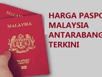 Harga Pasport Malaysia Antarabangsa 2017