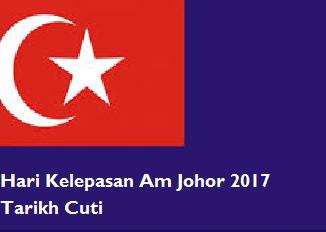 Hari Kelepasan Am Johor 2017
