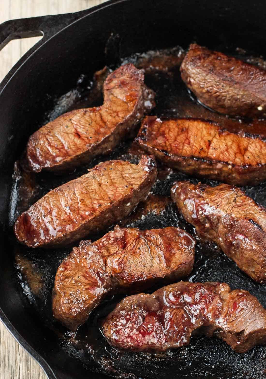 Balsamic Red Wine Flat Iron Steak