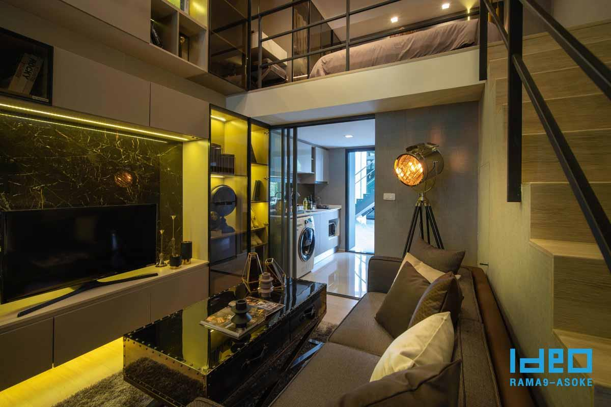 Ideo Rama 9 -Asoke Hybrid Studio Mocked up2