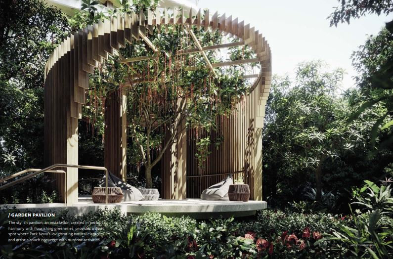 Park Nova garden pavillion