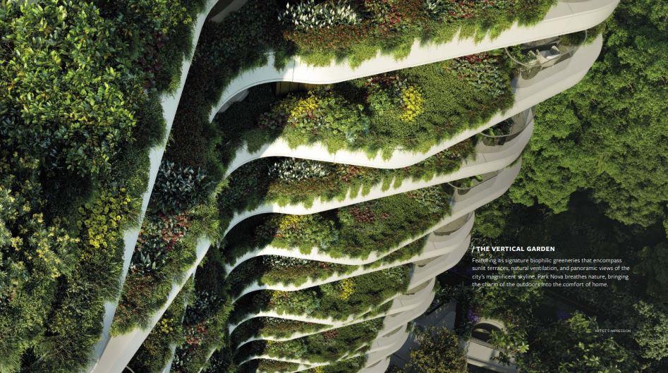 Park Nova vertical garden