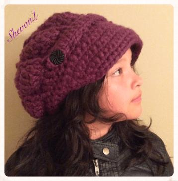 Slouchy Newboy Hat