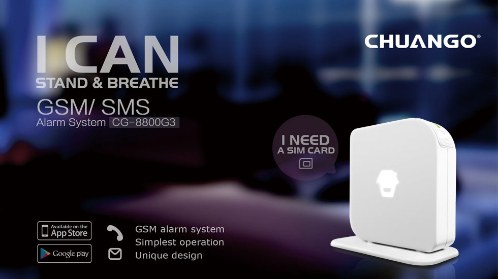Security Alarm System Cg 8800g3