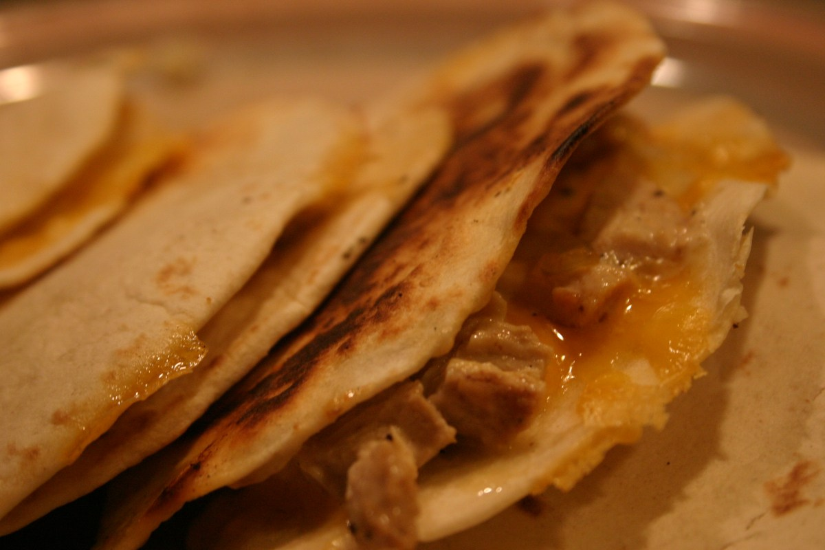 more chicken quesadillas