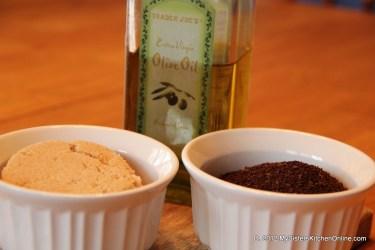 3 ingredients for Coffee Brown Sugar Body Scrub