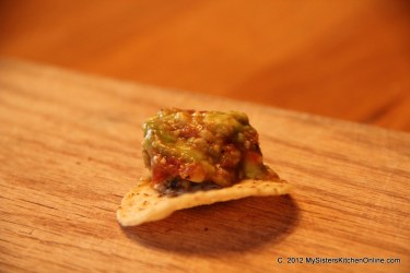 Mash avocado and add this 5 minute salsa to make a tasty Cinco de Mayo treat