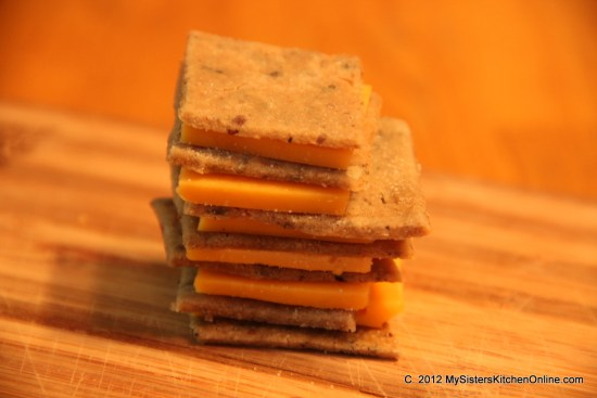 Crispy  Homemade Gluten-Free Rice Crackers