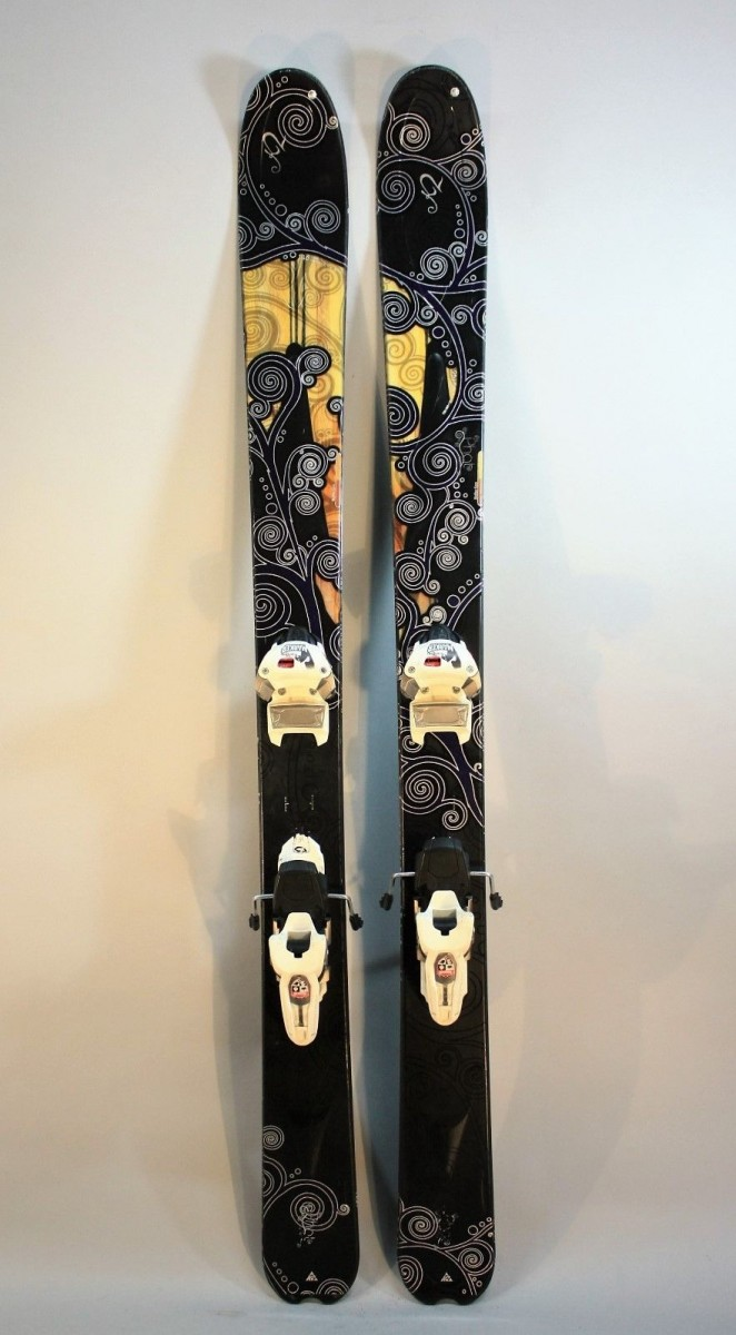 155cm Salomon scrambler 400 Skis with full tune up