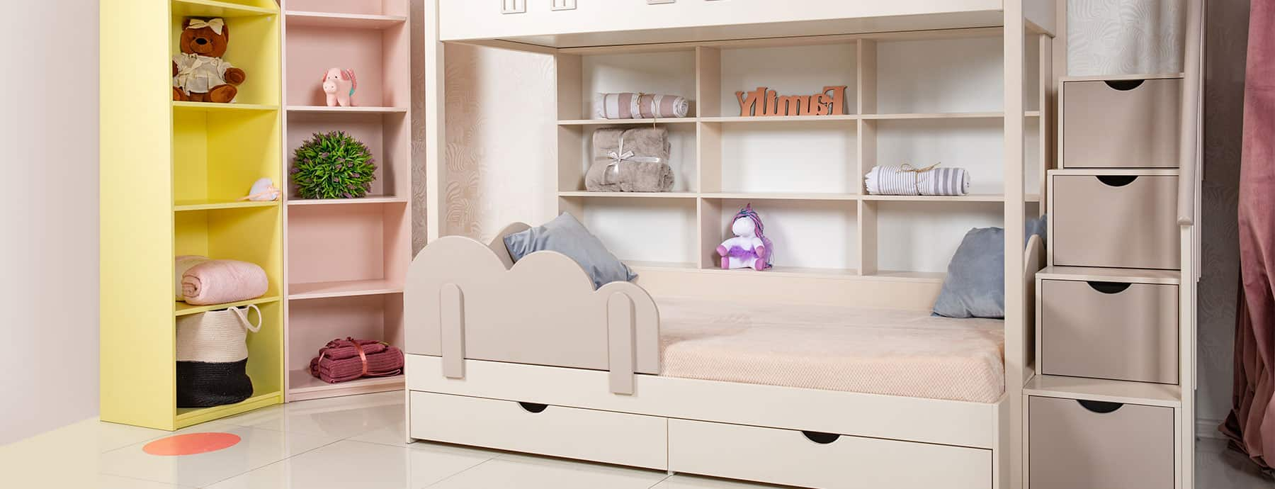The Best Bunk Bed With Drawer Steps Nursery Kid S Room Decor Ideas My Sleepy Monkey