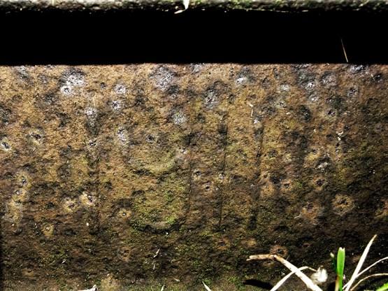 najstarszy fragment torów w Myśliborzu z roku 1911