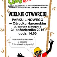 Małpi Gaj w Myśliborzu – wielkie otwarcie!!!