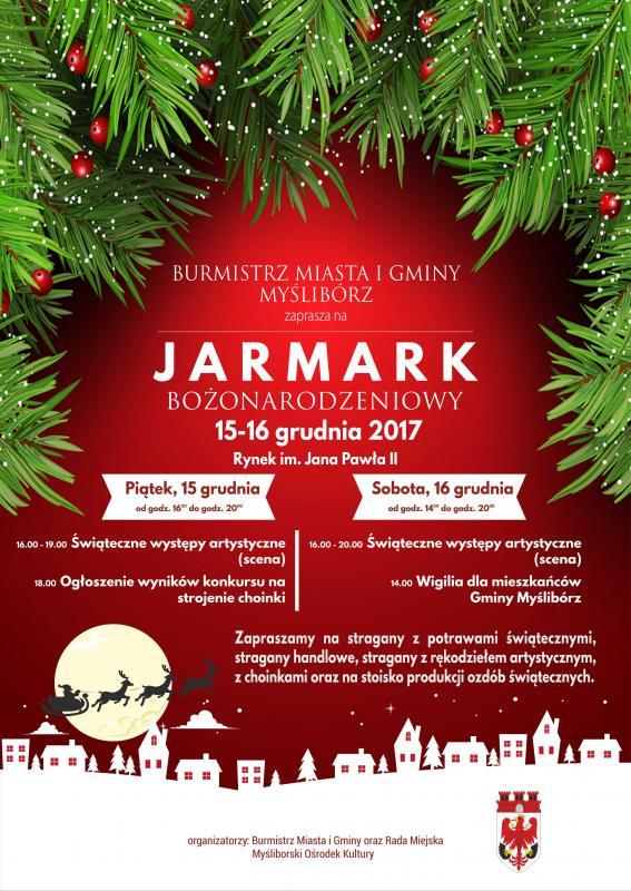 Jarmark Bożonarodzeniowy Myślibórz 2017