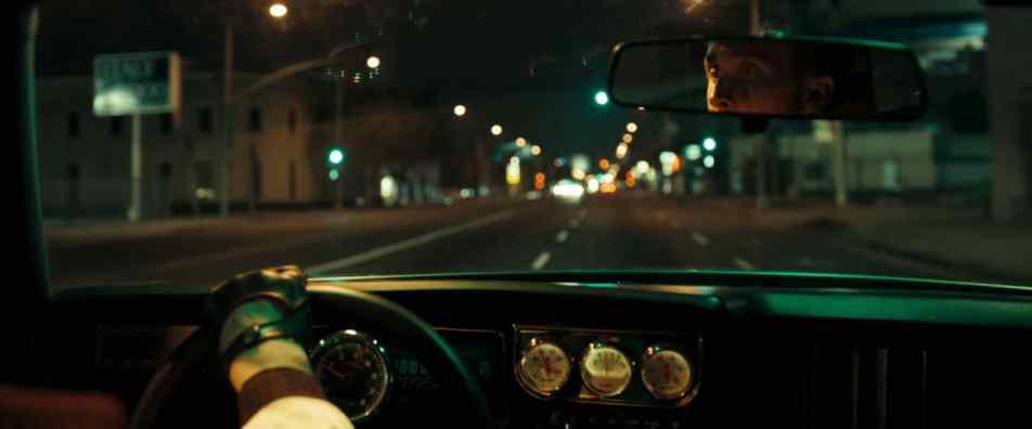"Kadr z filmu ""Drive"""