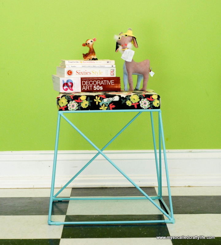 diy-covered-stool