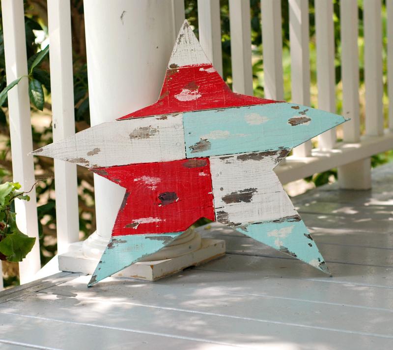boat wood star