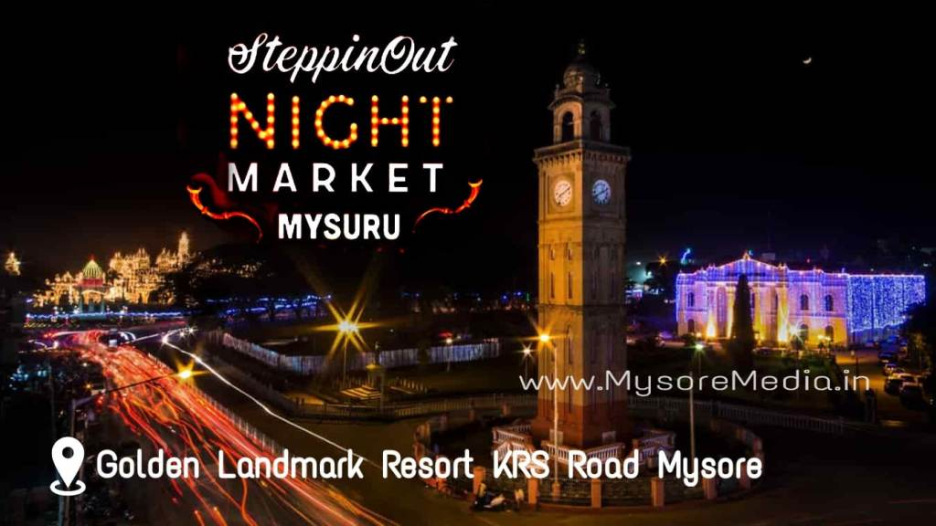 SteppinOut Night Market in Mysore