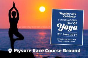International Yoga Day In Mysore