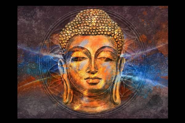 Buddha's Zen Canvas art