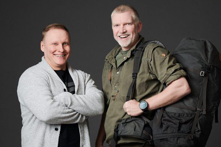 Pata Degerman ja Janne Mustonen kaksi miestä kuvassa
