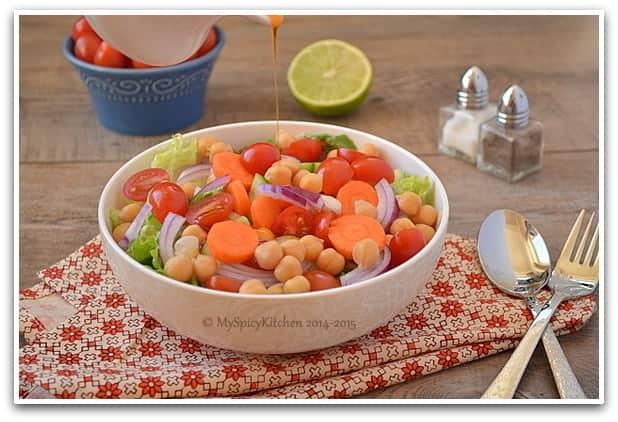 Chickpeas Salad 1