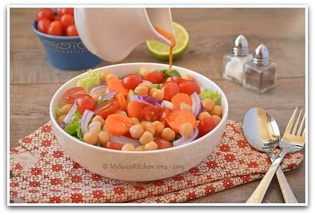 Chickpeas Salad 3