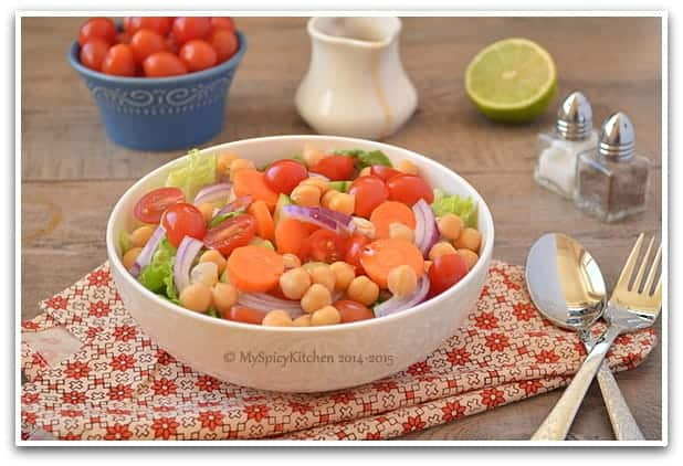 Chickpeas Salad 4