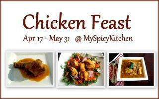 Chicken Feast, myspicykitchen, my spicy kitchen