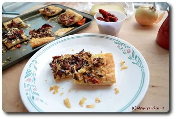 Baking Partners, Savory tart