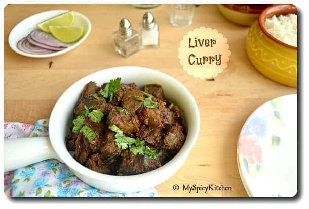 Mutton Liver Fry, Side Dish Mela