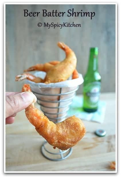 Cooking From cookbook Challenge, CCChallenge, Bubba's Beer batter Shrimp,