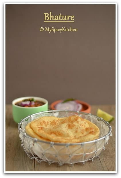 Choley Bhatura, Chole Bhatura, Chana Bhatura, Delhi Cuisine, Blogging Marathon