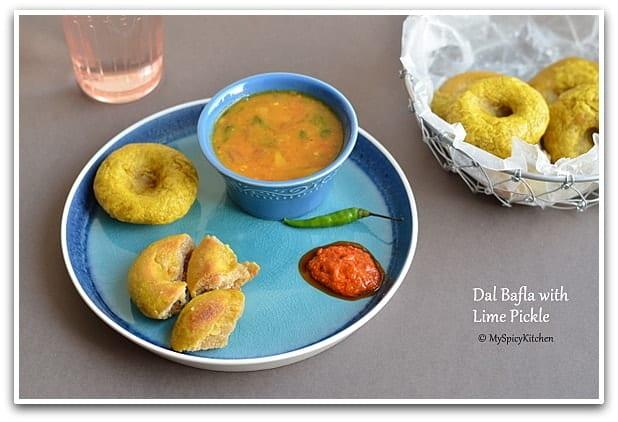 Dal Bafla, Madhya Pradesh Food,