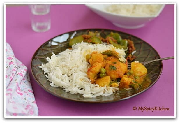 Manipur fish curry, Manipur fish stew, Blogging marathon, manipuri cuisine