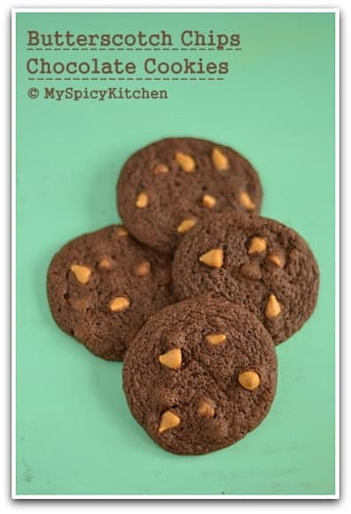 Butterscotch Chips Chocolate Cookies