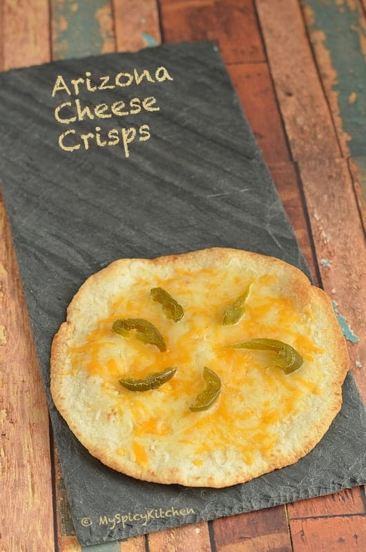 Tortilla cheese chips, Tortilla cheese crisps, Tucson Cheese Crisps, Blogging Marathon, Tortilla dish,