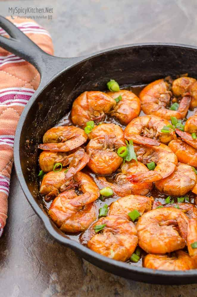 Barbecue (BBQ) Shrimp, New Orleans Style