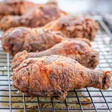 Blogging Marathon, Cooking Carnival, Protein Rich Food, Cooking With Protein Rich Ingredients, Cooking With Chicken, Fried Chicken, Buttermilk Fried Chicken, Chicken Drumsticks, Deep Fried, Appetizer,