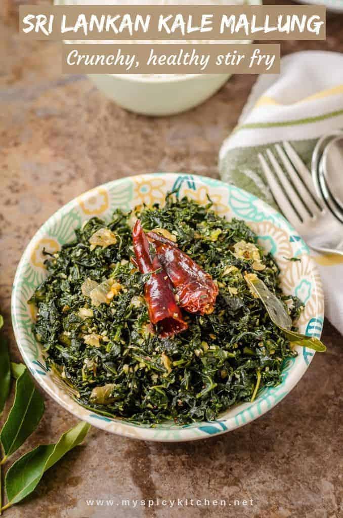 Sri Lankan Kale Mallung