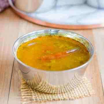 A bowl of tamatao chaaru