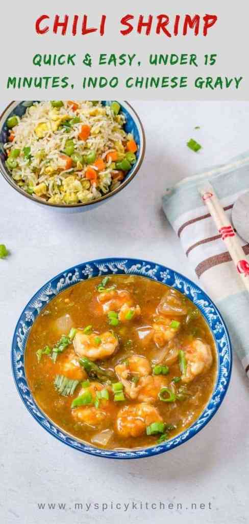 Chili Shrimp Gravy