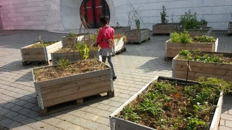 community gardens paris