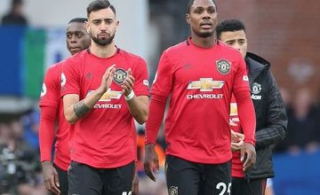 Photo of Odion Ighalo And Bruno Fernandes Nominated For Man United Player Of The Month Award