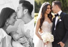 Photo of Arsenal Star Mesut Ozil Wife Amine Gülşe Gives Birth To Baby Girl (Photos)