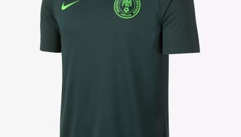 099a3149f Nigeria 2018 World Cup Home Jersey