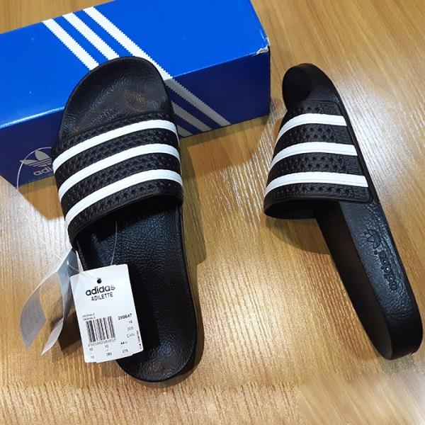 4fb9c4cfcaa9 Authentic Adidas Adilette Black Slide - Europe Standard