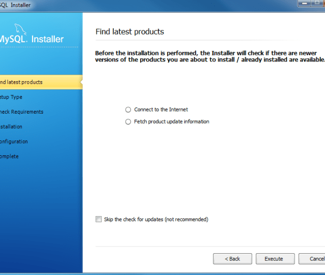 Install Mysql Step 3 Download The Latest Mysql Products