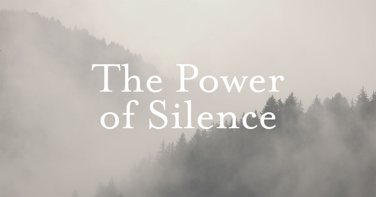 The power of silence - Telugu editorials