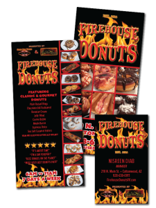 Layout and Design for Firehouse Donuts