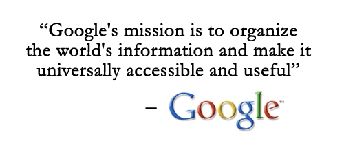 google mission statement